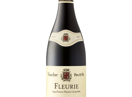 A Wine Bargain for January Budgets- Vaucher Père & Fils Fleurie 2015  90 pts.