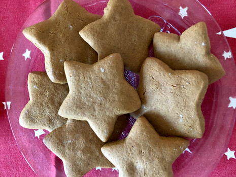 Finnish Gingerbread Cookies - Piparit