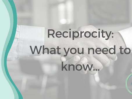 Reciprocity: what you need to know