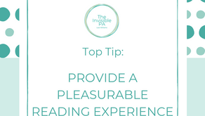 Providing a Pleasurable Reading Experience