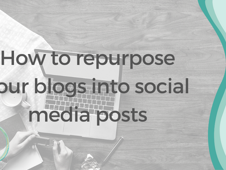 How to repurpose your blogs into social media posts
