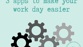 3 apps to make your work day easier