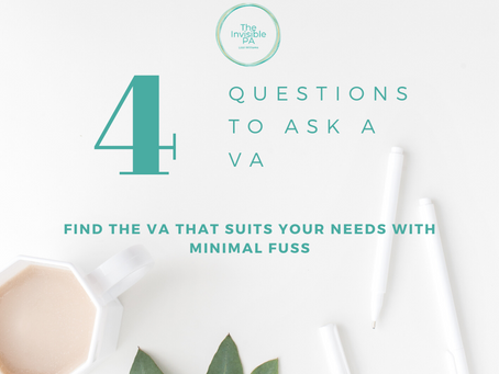 4 Questions To Ask A VA & What Order To Ask Them In
