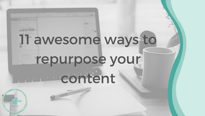 11 awesome ways to repurpose your content