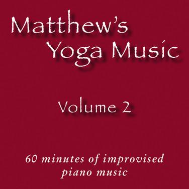 Matthew's Yoga Music ~ Volume 2 ~ COVER