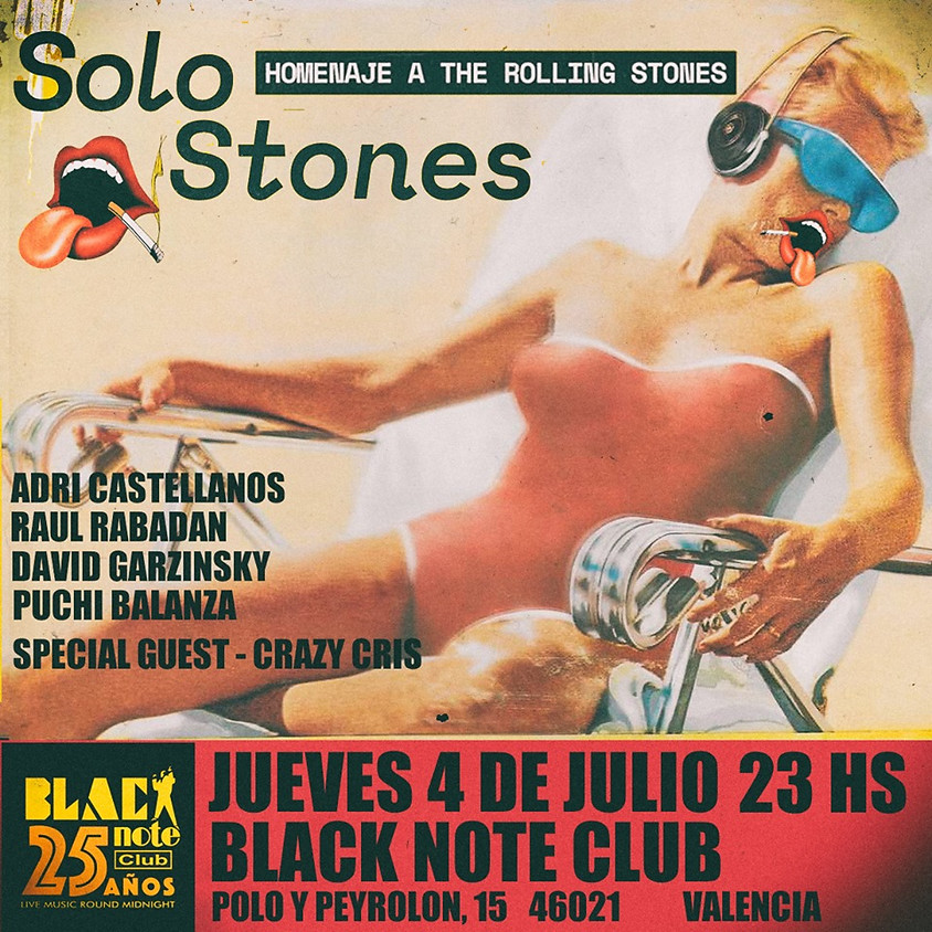 SOLO STONES - Homenaje a The Rolling Stones