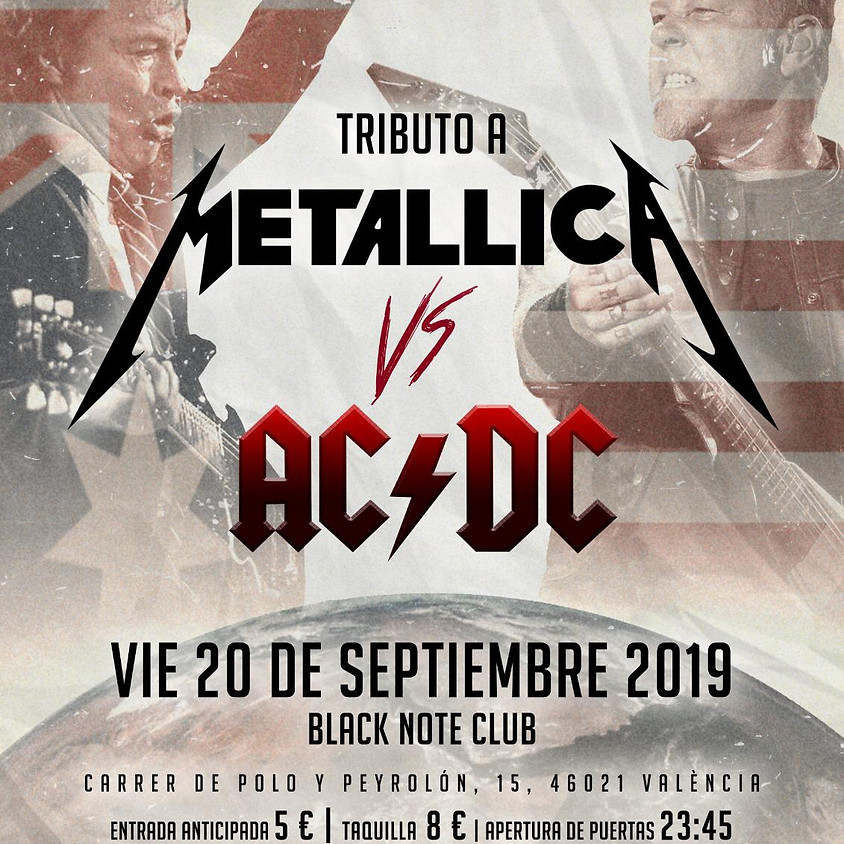 METALLICA VS ACDC - SOLD OUT