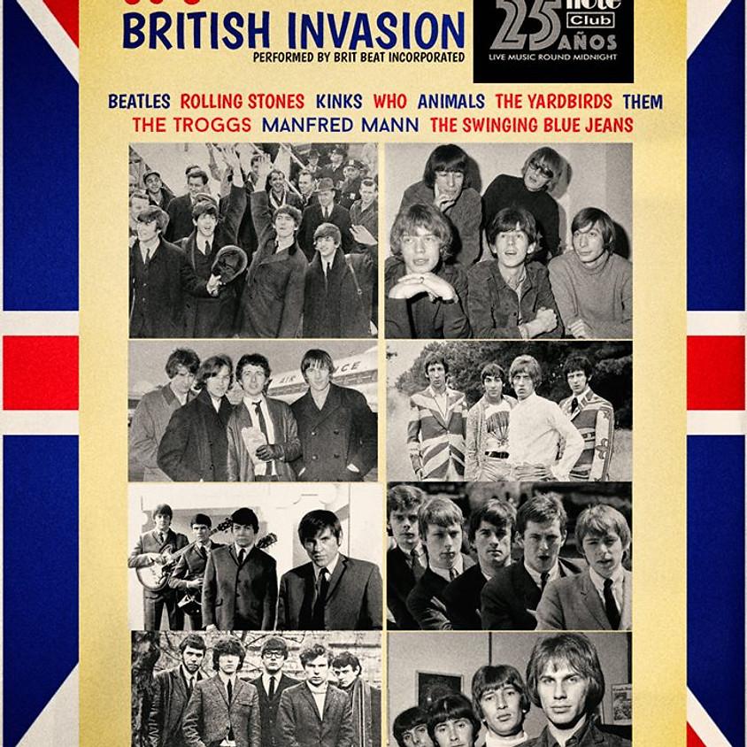 60´s BRITISH INVASION by Brit Beat Incorporated.