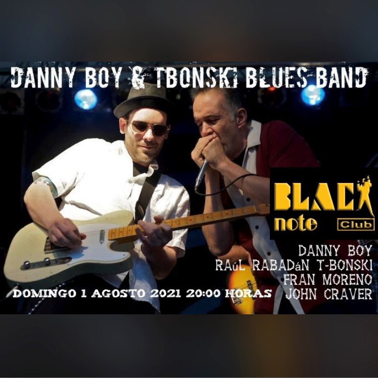 DANNY BOY & TBONSKI BLUES BAND