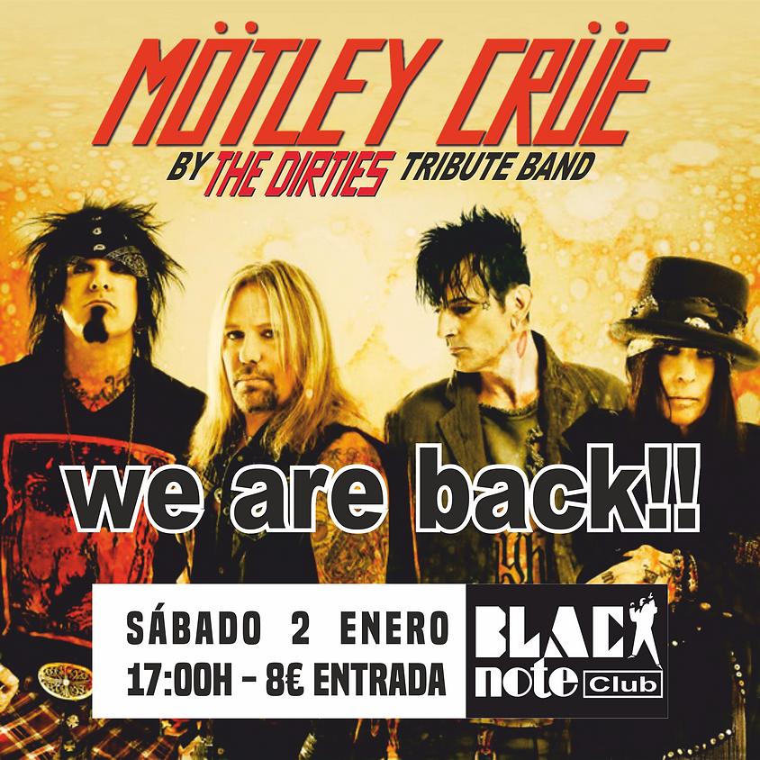 THE DIRTIES tributo a Mötley Crüe