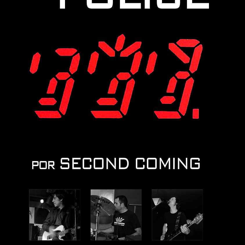 SECOND COMING tributo a THE POLICE