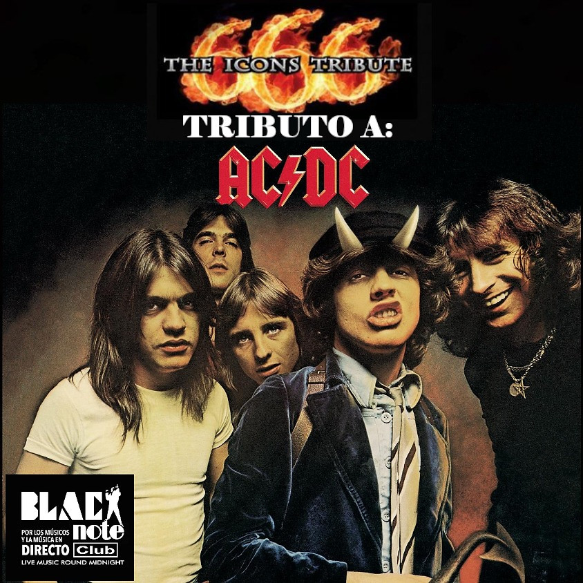 666 ICONS TRIBUTE (Tributo ACDC)
