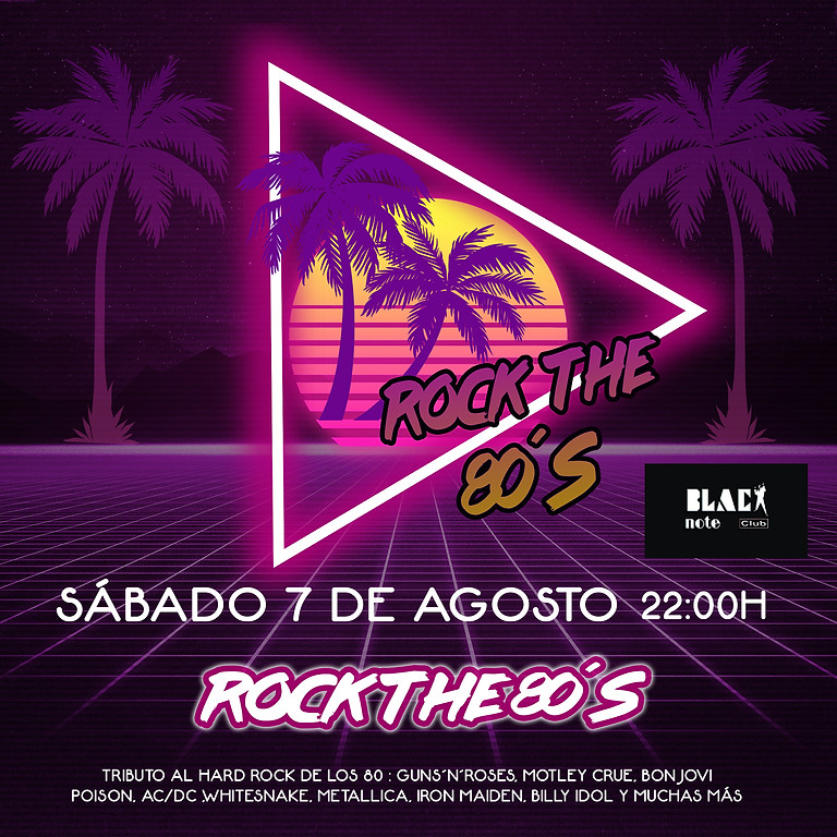 ROCK THE 80's