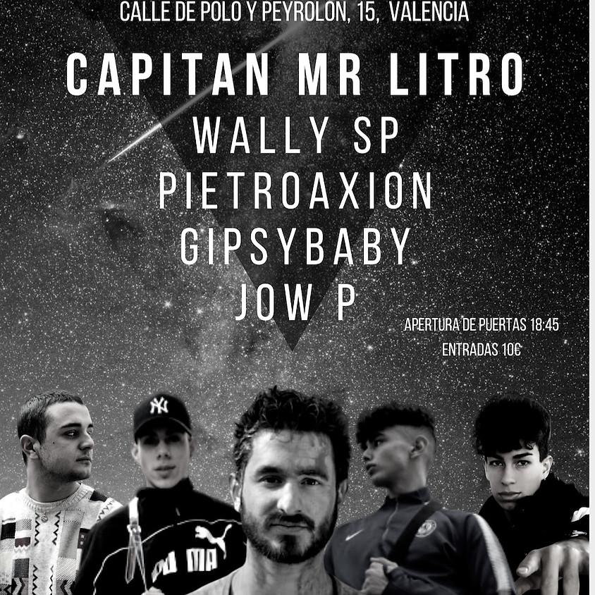 CAPITAN Mr LITRO + artistas invitados