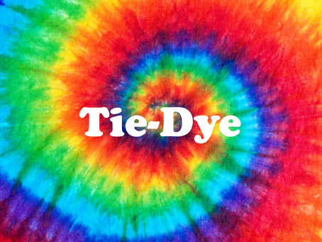 Trend Alert:  Tie-Dye