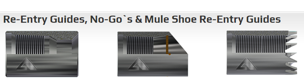 Re-entry Guides Mule Shoe Re-entry Guide
