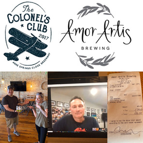 ASCG Colonel's Club virtual happy hours supporting local businesses