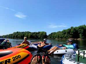 DIY: tube down the Catawba River from Fort Mill