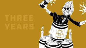 Celebrate Amor Artis Brewing's 3rd anniversary all week long