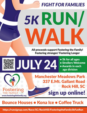 Fight for Families 5K Run/Walk on July 24