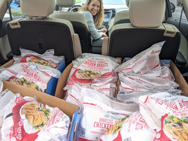Weekly Chicken Run for the Fort Mill Care Center
