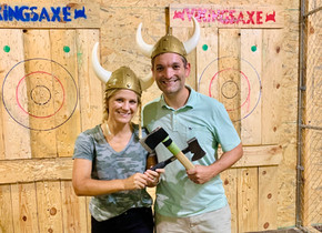 Viking's Axe: Fort Mill's indoor axe throwing facility soon to celebrate one year