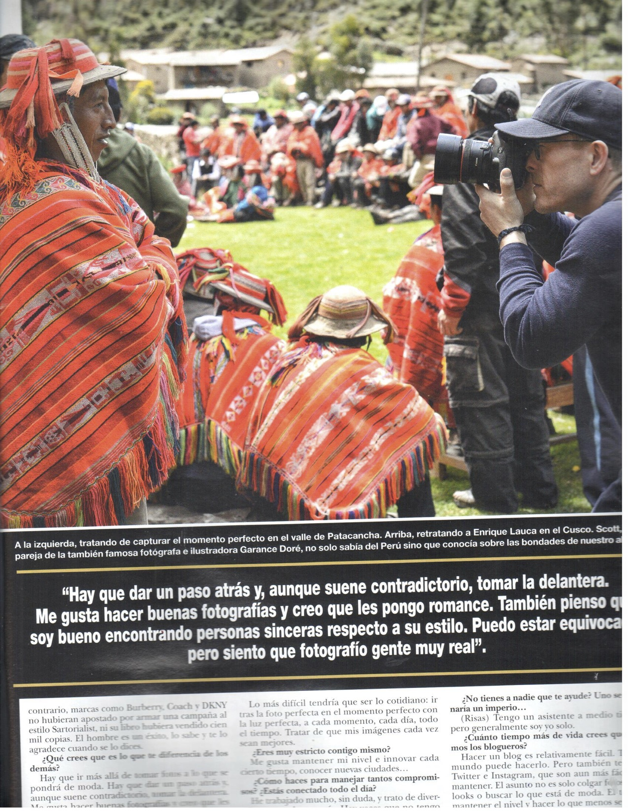 Peru Moda 2014 Hola Peru / Doble Impacto