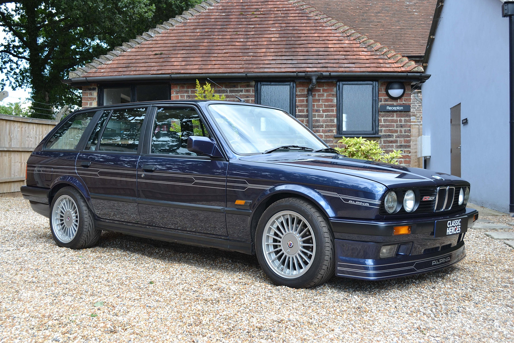 bmw e30 alpina c2 touring for sale classic heroes. Black Bedroom Furniture Sets. Home Design Ideas