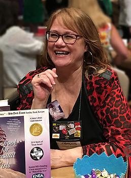 Kathleen Baldwin at signing bio photo72d