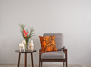 Armchair & Side Table