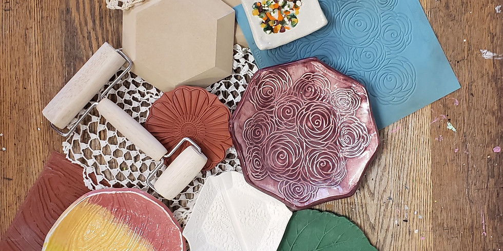 Embossed Clay Dish Class