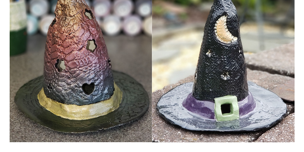 Witch Hat Clay Class 10/16 1p
