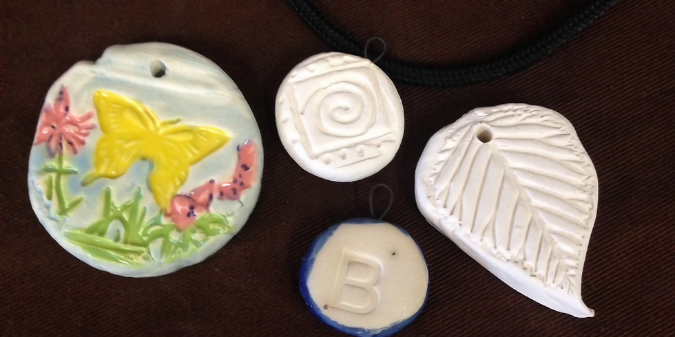 W.A.C.ky Essential Oil Clay Pendants