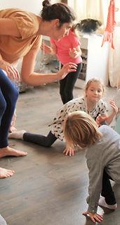 Danse de création Petit Pois atelier