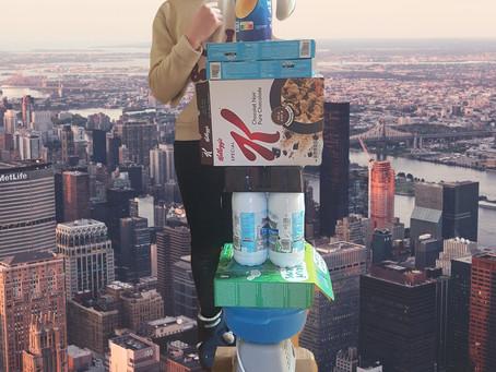 Défi Petit Pois#2: je crée une tour plus haute que moi!