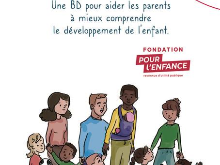 Une bande dessinée de soutien à la parentalité à consulter en ligne recommandée par Petit Pois!