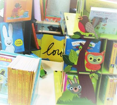 Chemin de lecture, albums Petit Pois atelier