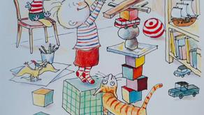 défi Petit Pois #2Tour: lire et construire sa tour