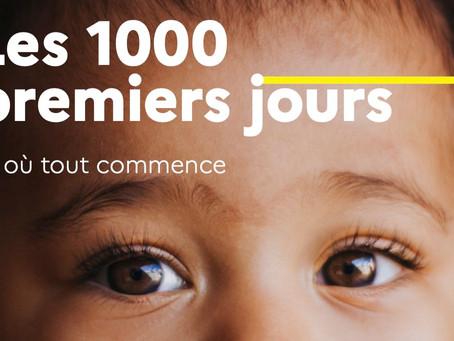 Le rapport des 1000 premiers jours: un outil fantastique pour soutenir la parentalité!