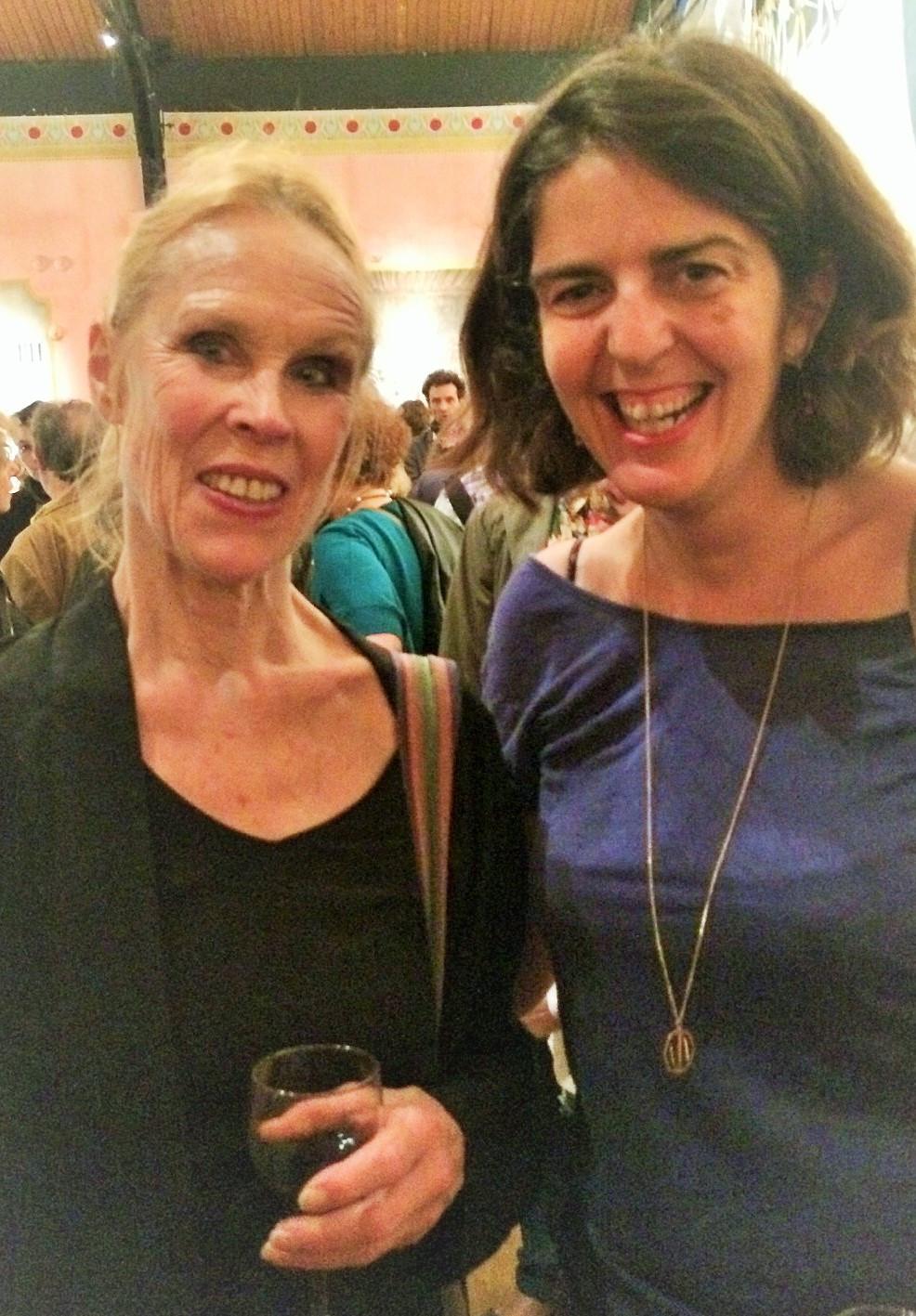 Carolyn Carlon et Frédérique Dupin