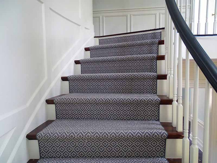 stair tread cleaning