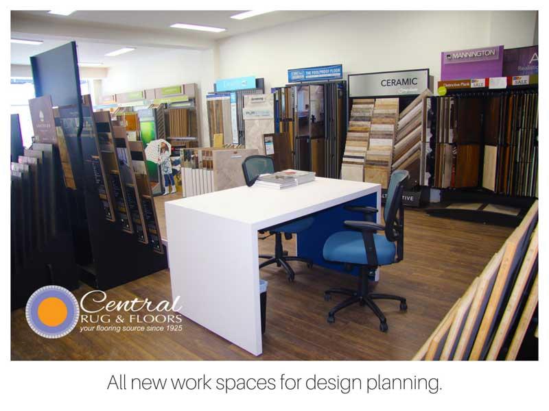 interior work spaces