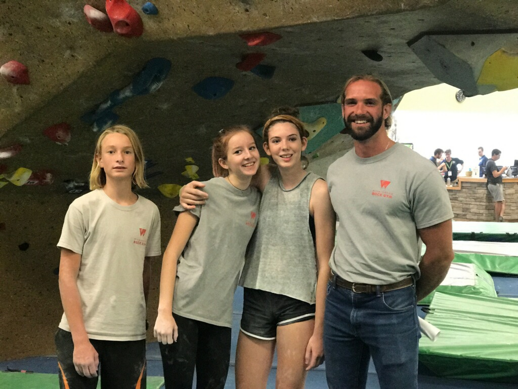 Rock Gym Team USA climbing