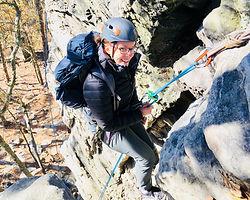 outdoor climbing guiding wilmington rock gym NC