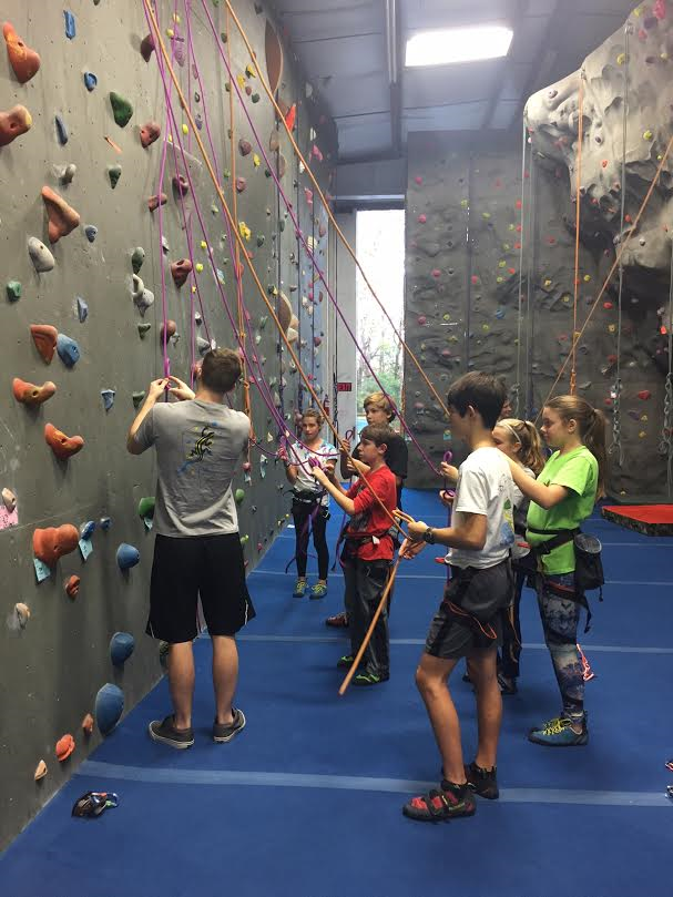 kids rock climbing classes programs