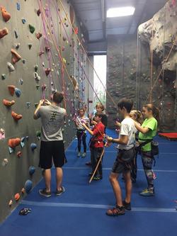 kids rock climbing classes programs
