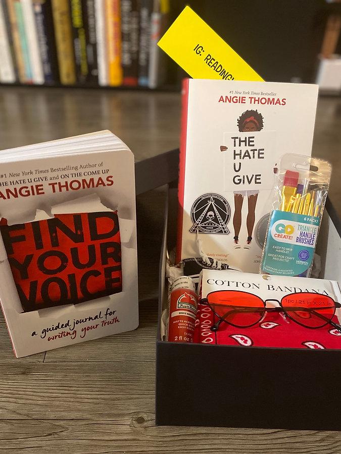 Book box, The Hate U Give