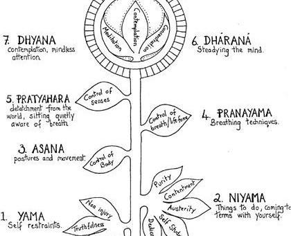 Ashtanga Yoga - 8 Membres du Yoga