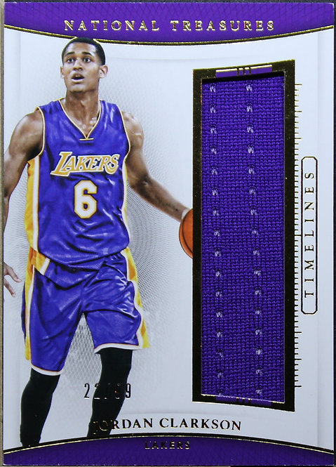 Jordan Clarkson 2015-16 National Treasures Timelines 22/99