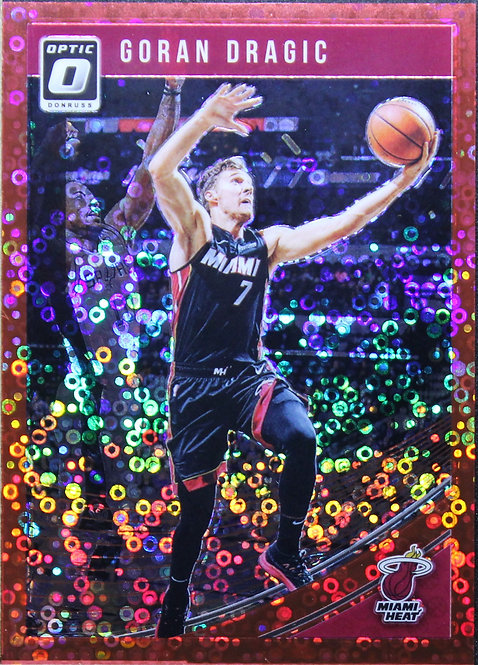 Goran Dragic 2018-19 Optic Fast Break Red 77/85